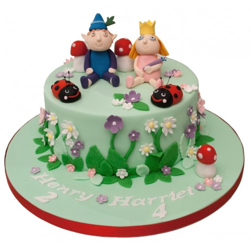 Ben and Holly Birthday Cake  Ben and Holly B...