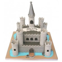 Boys Castle Birthday Cake