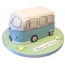 Campervan Small Birthday Cake