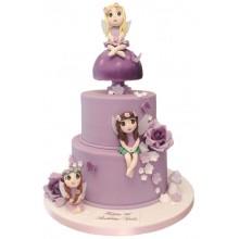Fairies Birthday Cake