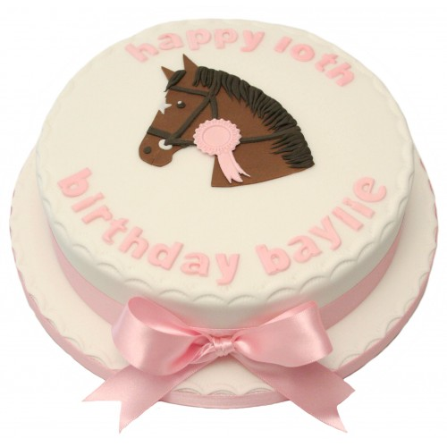 Outstanding Horse Birthday Cake Funny Birthday Cards Online Fluifree Goldxyz