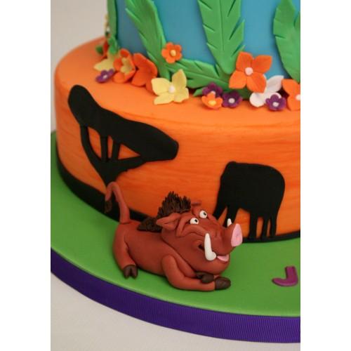 Tremendous Lion King Birthday Cake Birthday Cards Printable Opercafe Filternl