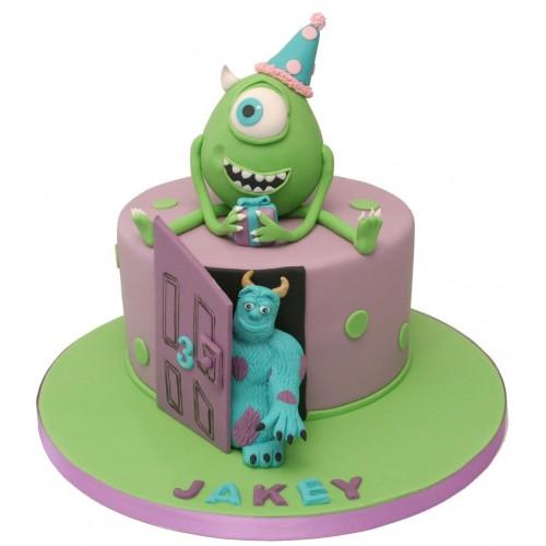 Sensational Monsters Birthday Cake Funny Birthday Cards Online Elaedamsfinfo