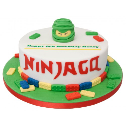 Astounding Ninjago Birthday Cake Funny Birthday Cards Online Alyptdamsfinfo