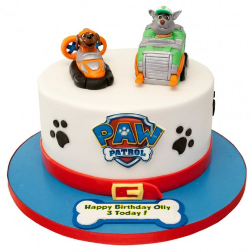 Paw Patrol Cake Toppers Uk