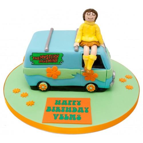 Scooby Doo Mystery Machine Birthday Cake