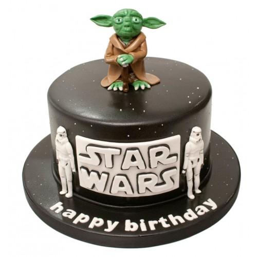star wars yoda birthday cake. Black Bedroom Furniture Sets. Home Design Ideas