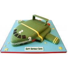Thunderbird 2 Birthday Cake