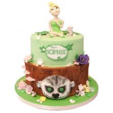 Tinkerbell Neverbeast Birthday Cake