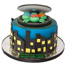 Turtles Birthday Cake