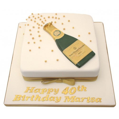 Birthday Cake And Champagne Delivery