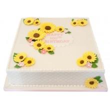 Daisy 100th Birthday Cake