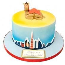 Dubai Camel Birthday Cake