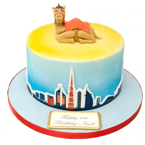 Incredible Dubai Camel Birthday Cake Funny Birthday Cards Online Aboleapandamsfinfo