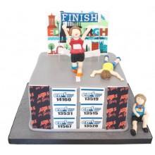 Jogging Celebration Cake