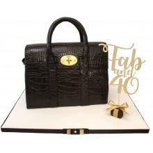 Designer Black Bag Cake