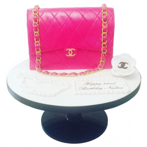 8bd5e9dee8c3 pink chanel handbag birthday cake1-500x500.jpg