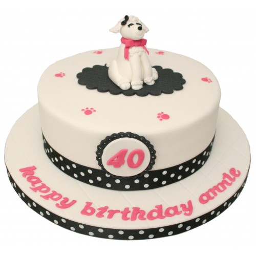Brilliant Poodle Birthday Cake Funny Birthday Cards Online Aeocydamsfinfo
