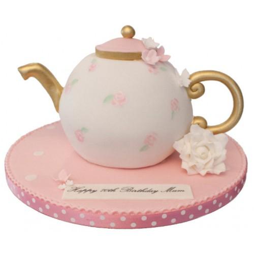 Prime Teapot Birthday Cake Funny Birthday Cards Online Benoljebrpdamsfinfo