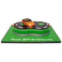 Aston Martin 30th Birthday Cake
