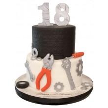 Car Mechanic Birthday Cake