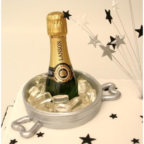 Tremendous Champagne Bottle Birthday Cake Funny Birthday Cards Online Hetedamsfinfo