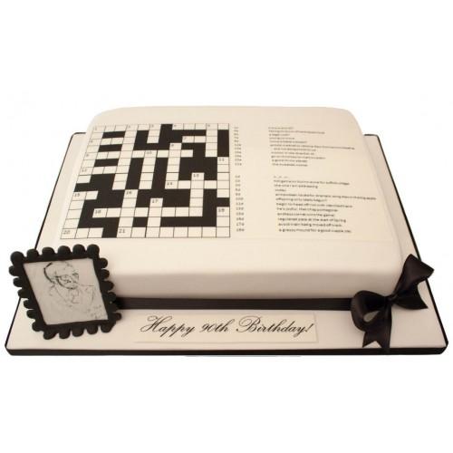 Birthday Cake Toppers Crossword