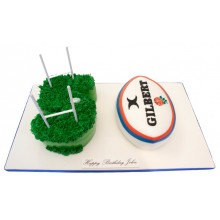 Gilbert Rugby Numbers Cake