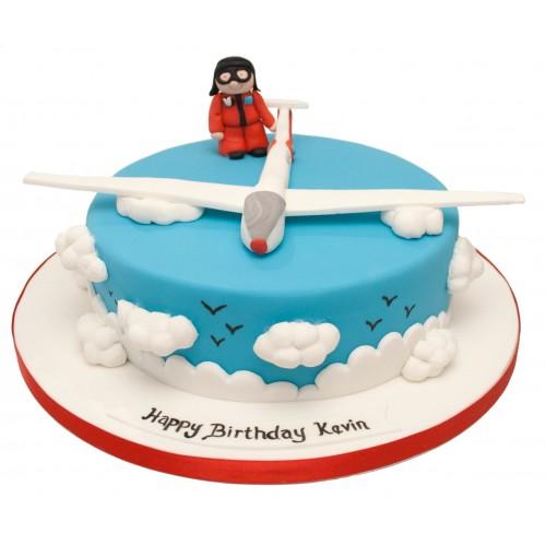Glider Birthday Cake
