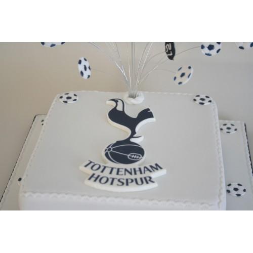 Tottenham Hotspur Wedding Cake Toppers