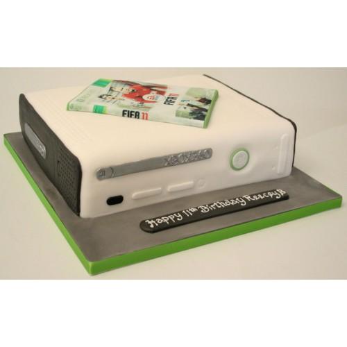 Xbox Large Birthday Cake