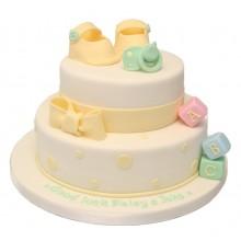 Baby Good Luck Cake