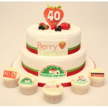 Berry Gardens Corporate Cake