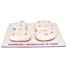 Bluewater Anniversary Corporate Cake
