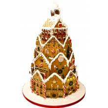 Corporate Large Gingerbread House