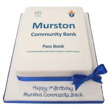 Murston Community Bank Corporate Cake