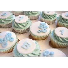 1st Birthday Mix Cupcakes