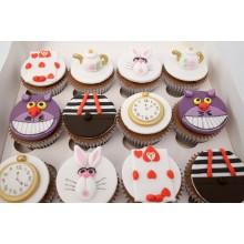 Alice Wonderland Cupcakes