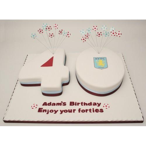 Aston Villa Th Birthday Cakes