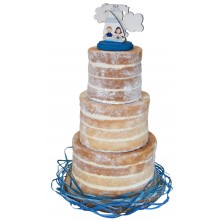 Giant Naked Wedding Cake
