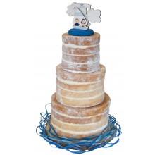 Giant Naked Wedding Cake