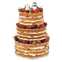 Naked Wedding Cake Topper Fruits